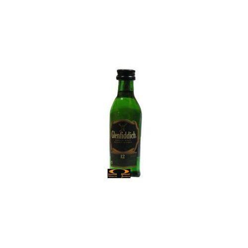 Whisky Glenfiddich 12YO Miniaturka 0,05l