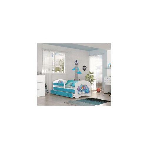 Łóżko lucky dziecięce: dostępne kolory - dąb sonoma, rozmiar - 160x80 marki Ajk meble