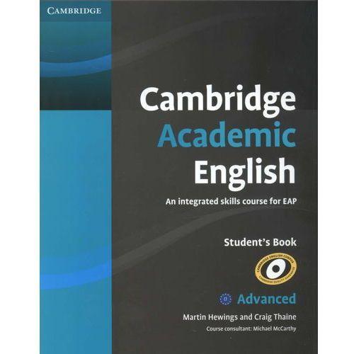 Cambridge Academic English C1 Advanced Student's Book (podręcznik) (9780521165211)