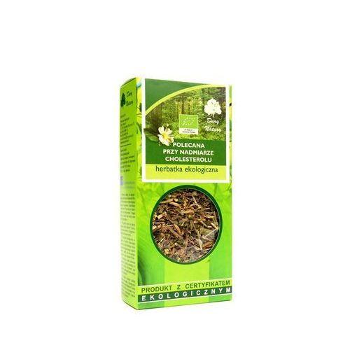 Polecana przy nadmiarze cholesterolu eko 50g - herbata marki Dary natury
