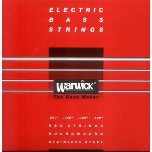 Warwick 42210 Red Lab Stainless Steel struny do gitary basowej 40-100