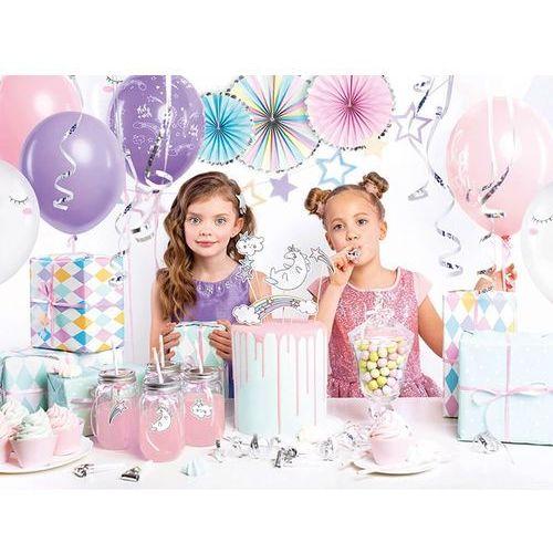 Party Box - Imprezowe Pudełko - Zestaw dekoracji na urodziny Jednorożec