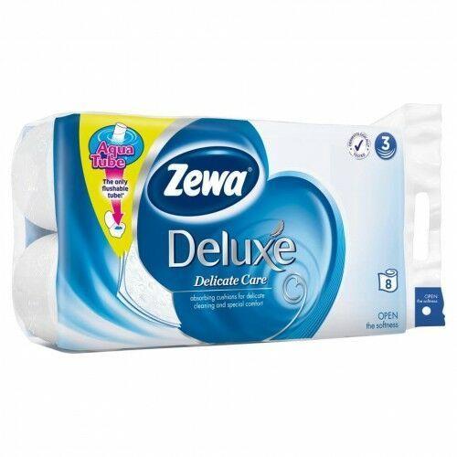 Zewa - Deluxe Pure White trzywarstwowy papier toaletowy 8..., 26323652059