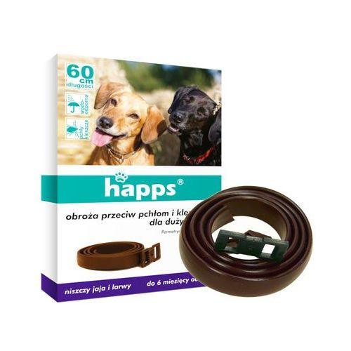 BROS HAPPS 60cm obroża dla dużych psów na pchły i kleszcze (5904517044623)