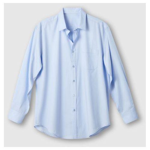 Koszula z długimi rękawami z popeliny, rozmiar 2