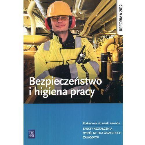 Bezpieczeństwo i higiena pracy Podręcznik do nauki zawodu, oprawa miękka