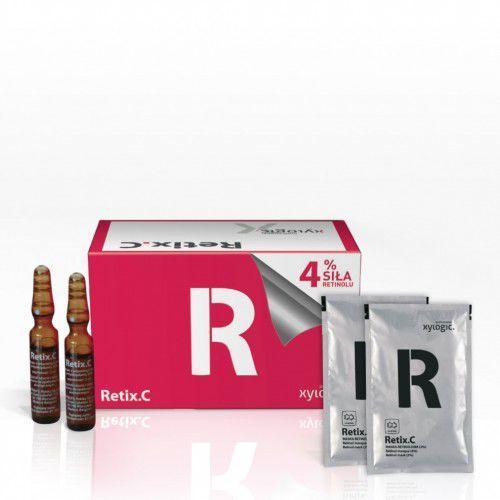 retix.c - retinol 4% (serum 2 ml + maska 5 g) produkt profesjonalny marki Xylogic