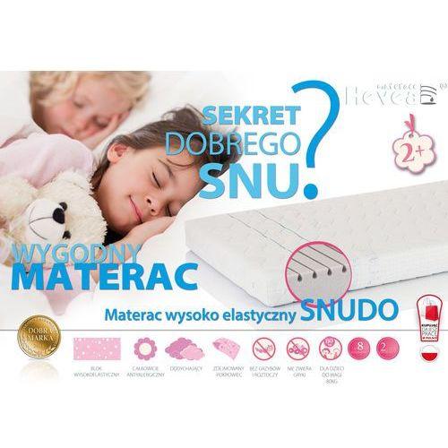 Hevea Materac wysokoelastyczny snudo 160x80 + poduszka 45/45 gratis! sklep firmowy hevea w krakowie - rabaty i gratisy sprawdź