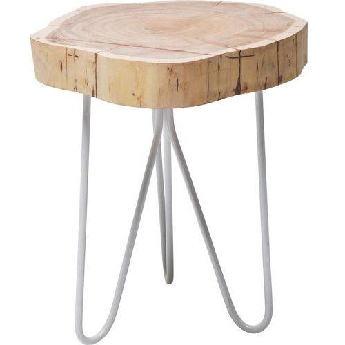 Groth Ring Designerski Stolik Kawowy Żelazo Drewno Akacjii - 78727, Kare Design z sfmeble.pl