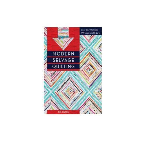 Modern Selvage Quilting (9781617450839)
