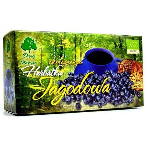 Dary natury - test Herbatka jagodowa bio (20 x 3 g) - dary natury