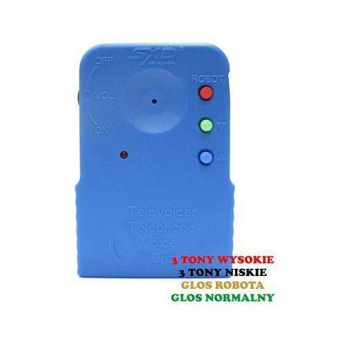 Przenośny bezprzewodowy modulator/zmieniacz głosu. marki Sxd