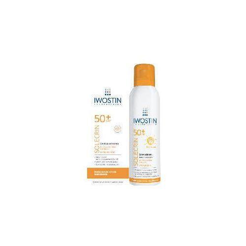 solecrin zestaw mama i dziecko emulsja spf50+ 150ml + spray multipozycyjny 100ml marki Iwostin