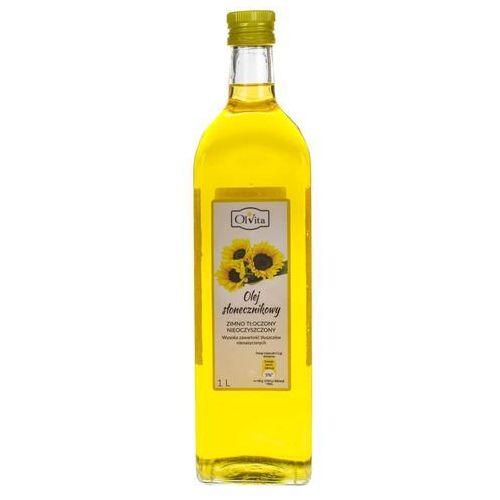 Ol'vita Olej słonecznikowy tłoczony na zimno 1000ml - olvita