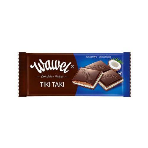 Wawel 100g tiki taki kokosowo-orzechowe czekolada nadziewana
