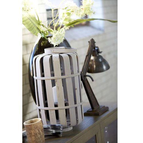 Lampion szklany w rattanowej obudowie This & That 4 3 - produkt dostępny w Seart - Meble z Drewna