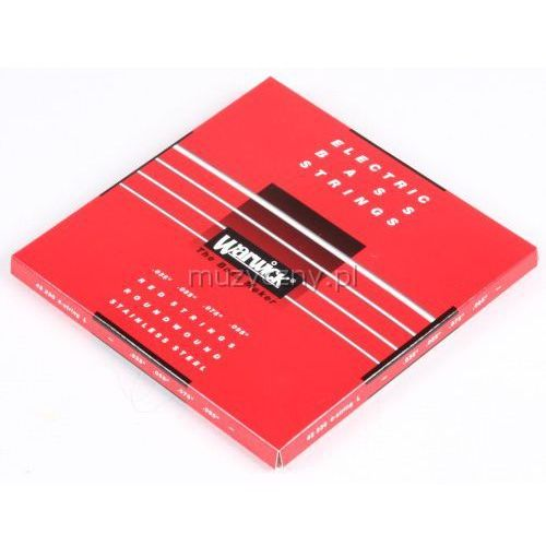 Warwick 42230 Red Lab Stainless Steel struny do gitary basowej 35-95