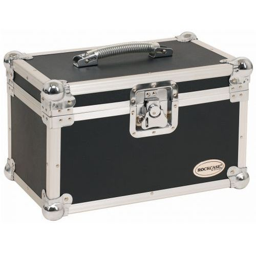 rc-23220-b flight case - for 10 microphones, incl. accessory compartment, futerał na mikrofony i akcesoria marki Rockcase