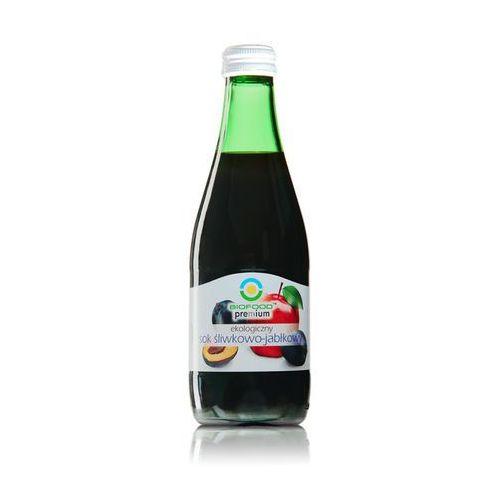 Sok śliwkowo - jabłkowy 300 ml marki Bio food