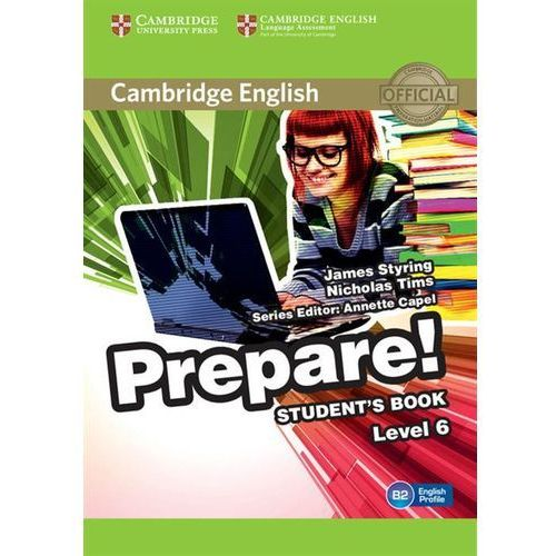 Cambridge English Prepare! Level 6 Student's Book*natychmiastowawysyłkaod3,99 (9780521180313)