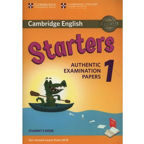 Cambridge English Starters 1 For Revised Exam From 2018 Student's Book (2018)
