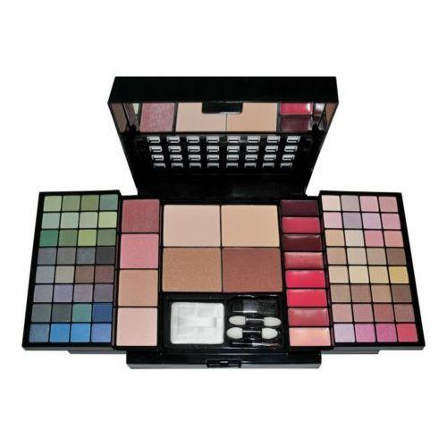 schmink set flower - zestaw kosmetyków do makijażu complet make up palette 92g marki Makeup trading