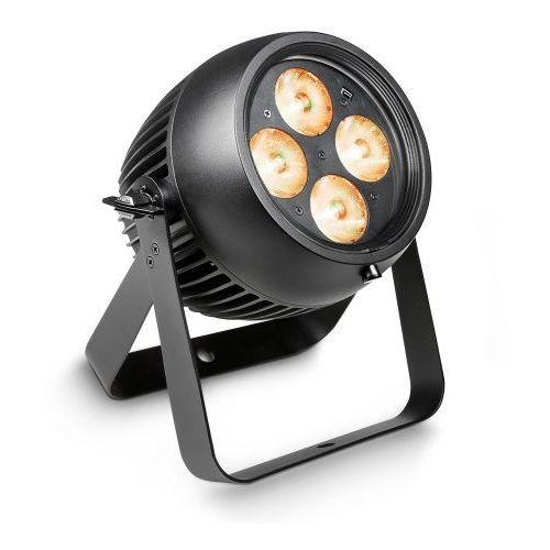Cameo zenit p 40 - profesjonalna lampa par o stopniu ochrony ip65 do użytku zewnętrznego, w zestawie z osłonami rozpraszającymi