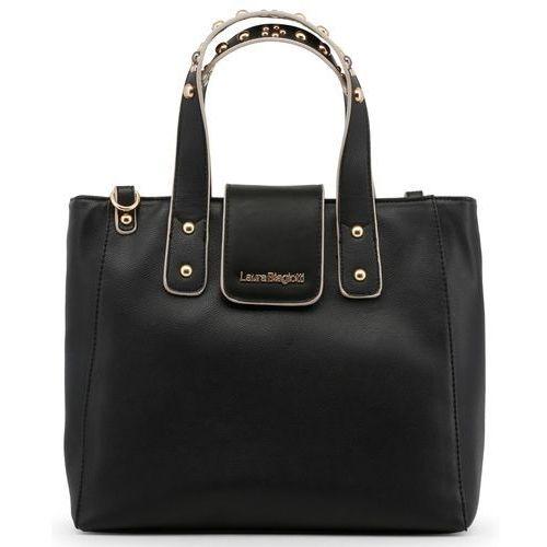 Laura biagiotti torebka damska czarna