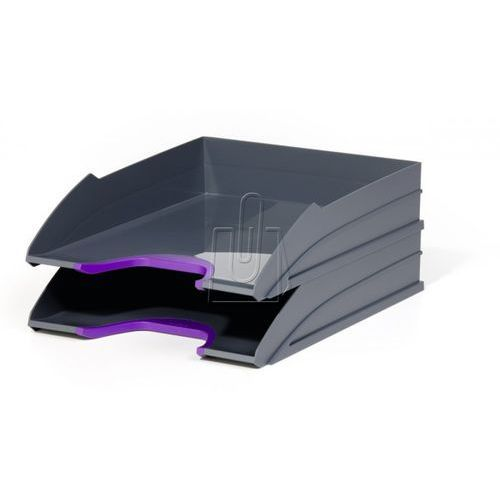 Zestaw dwóch półek varicolor fioletowy 7702-12 marki Durable
