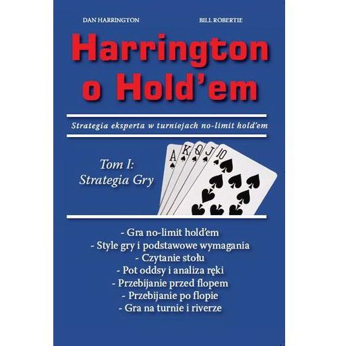 "Książka ""HARRINGTON O HOLD'EM"" Cz. 1"