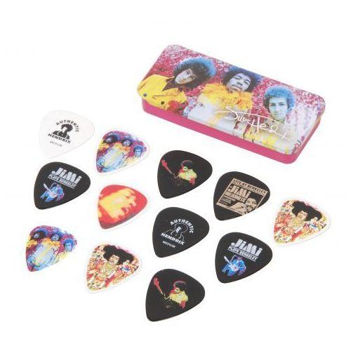 Dunlop Jimi Hendrix Are You Experienced zestaw kostek gitarowych 12 sztuk