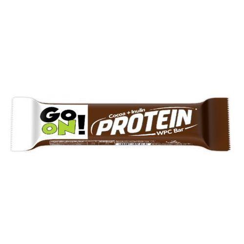 Baton Go On! kakaowy z inuliną 50 g Sante
