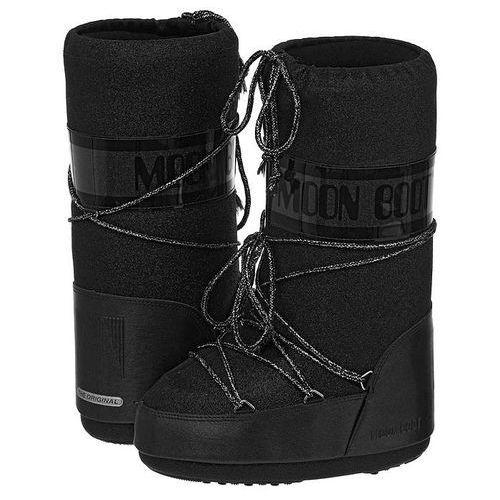 Śniegowce  Delux Black 14011600002 (MB7-b), Moon Boot