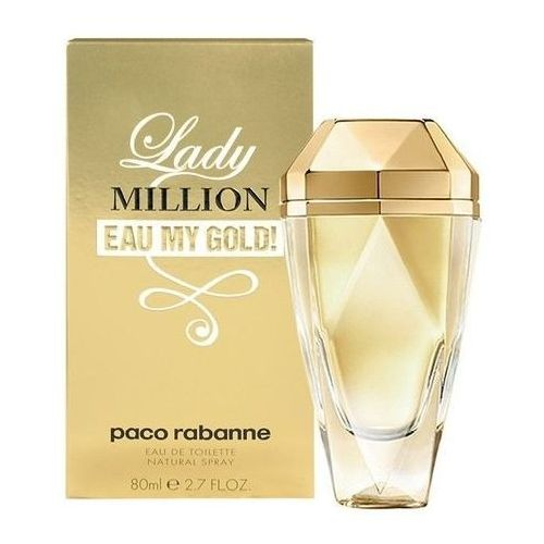 Paco Rabanne Lady Million Eau My Gold Woman 80ml EdT