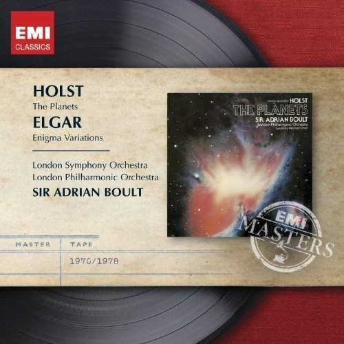 Enigma variations / the planets - adrian sir boult (płyta cd) marki Warner music