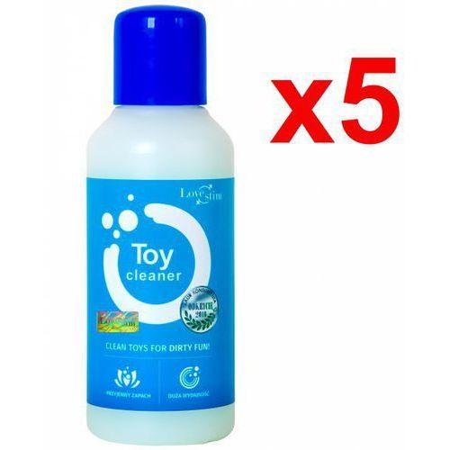 5x toy cleaner 100ml antybakteryjny środek czyszczący marki Lovestim