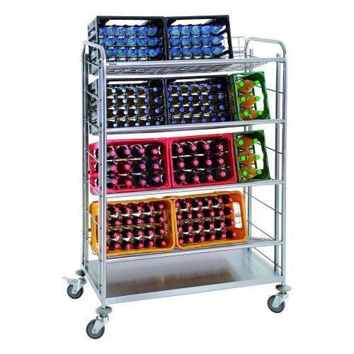 Wózek transportowy 4-półkowy do skrzynek do napojów 300084