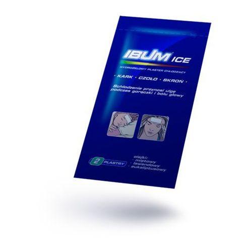 Ibum Ice plastry hydrożelowe chłodzące 2sztuki (lek Pozostałeleki i suplementy)