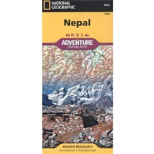 National Geographic Maps - Nepal (9781566956536)