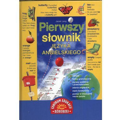 Pierwszy słownik języka angielskiego (9788324598014)