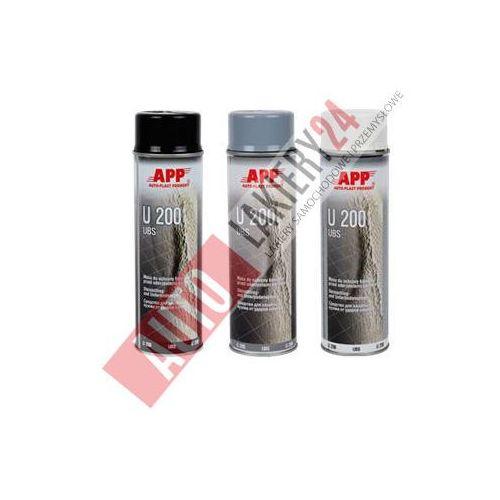 APP Preparat do ochrony karoserii spray U200 0,5L szary, app z Autolakiery24