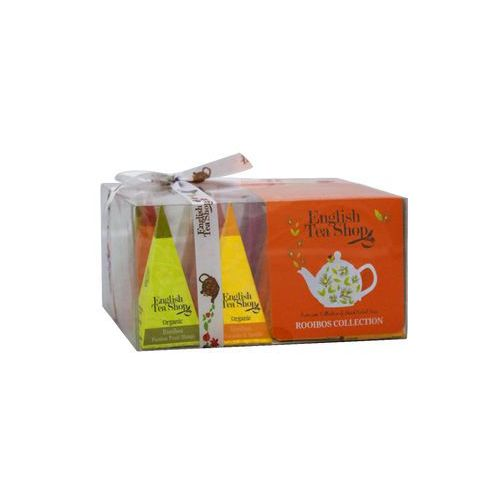 Ets bio rooibos tea collection 12 piramidek marki English tea shop