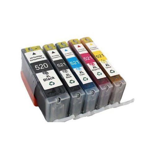 Komplet tuszy do Canon PIXMA iP 4700 MP 620 980 TD-PGI520/CLI521 CMYKPBK