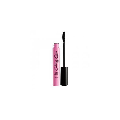 Gosh Catchy Eyes Mascara, tusz do rzęs Kocie Oczy, 8ml