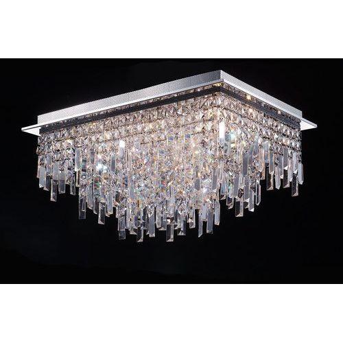 Plafon lavenda mx92915-18a lampa sufitowa z kryształami 18x20w g4 chrom marki Italux