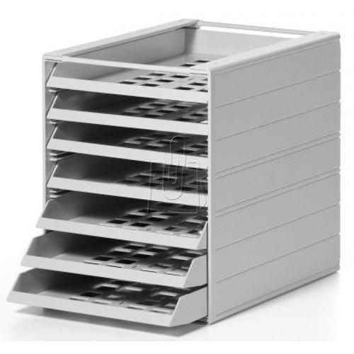Pojemnik z 7 szufladami idealbox basic szary 1712002050 marki Durable