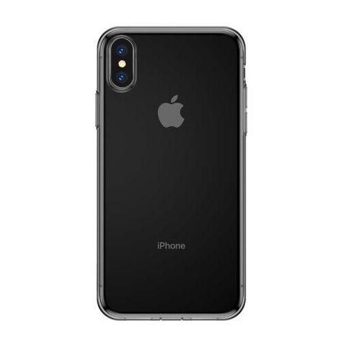 simplicity żelowe etui iphone xs / x czarne marki Baseus