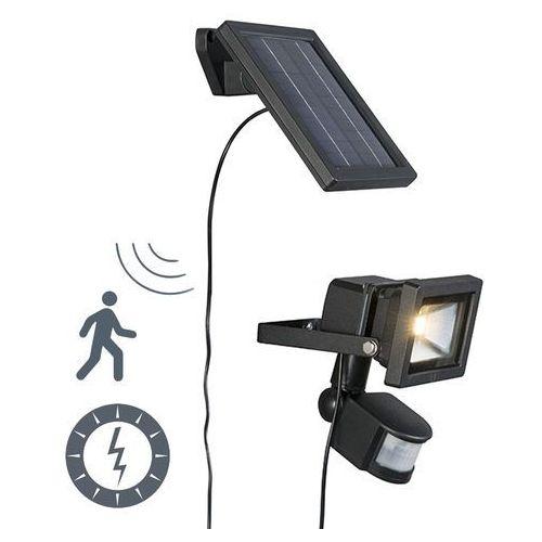 Zewnętrzna lampa solarna Sunny LED z czujnikiem na podczerwień (lampa zewnętrzna ogrodowa)