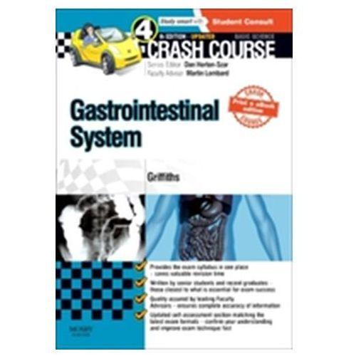 Crash Course Gastrointestinal System Updated Print + eBook edition (9780723438588)