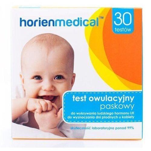 Test owulacyjny paskowy gt-003 x 30 sztuk marki Horien medical sp. z o.o.